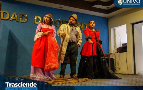 La compañía de Teatro 'David Granadino' de Santa Ana, realizó la puesta en escena 'El Mago de Oz'