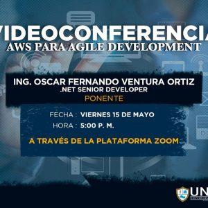 """Videoconferencia """"AWS para agile development"""""""
