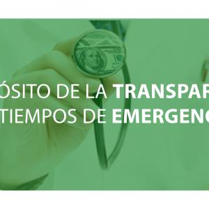 A propósito de la transparencia en tiempos de emergencia