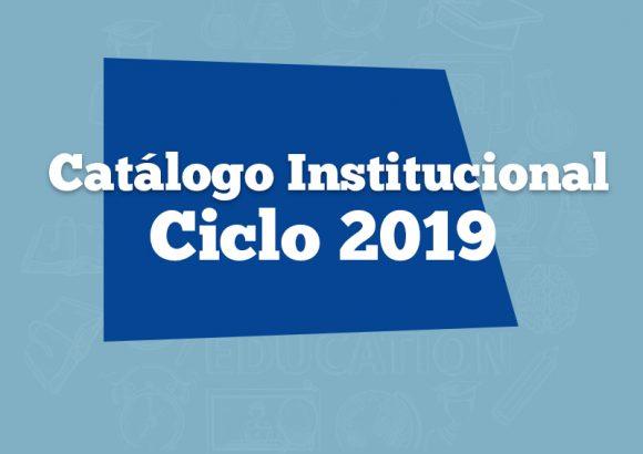Catálogo Institucional 2019