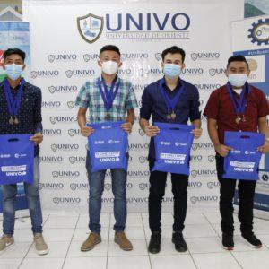 """Ganadores del Certamen Virtual """"Iniciativas de negocios UNIVO 2020""""."""
