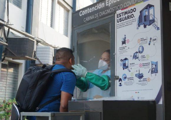 La Universidad de Oriente UNIVO con el apoyo del Ministerio de Salud, realizó tamizaje universitario para detectar casos de COVID-19