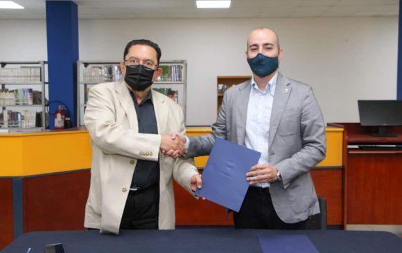 Firma de convenio de cooperación con el Colegio Bilingüe Academia Europea