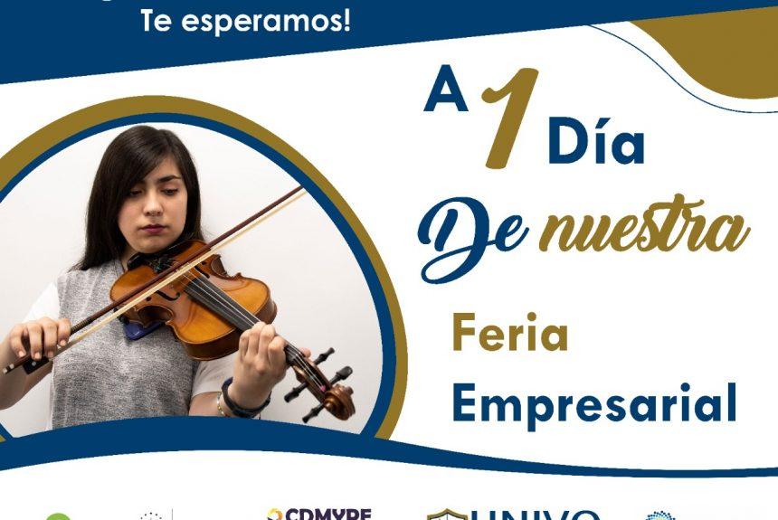 Feria Empresarial gracias a CDMYPE UNIVO y Banco de Desarrollo de El Salvador (BANDESAL)