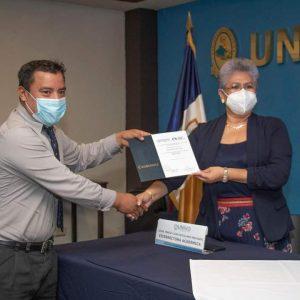 Ceremonia de clausura del ciclo de Conversatorios Disciplinares El Salvador-Mexico