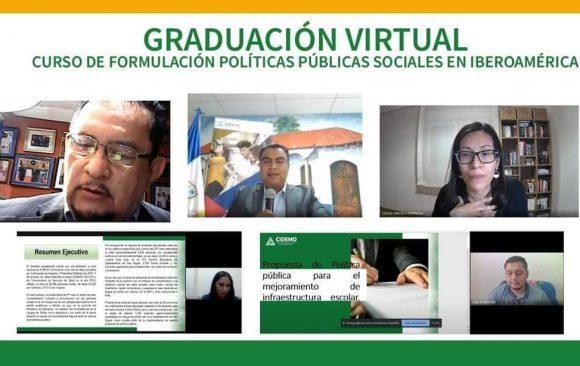 """Graduación Virtual – Curso de Formación: """"Formulación de Políticas Públicas Sociales en Iberoamérica"""""""
