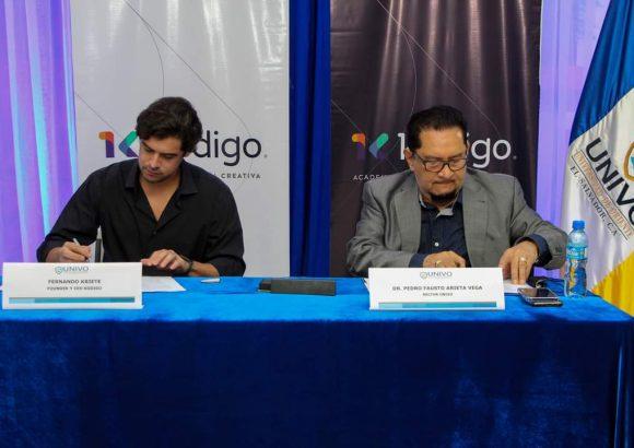 UNIVO firma convenio de colaboración con la Academia de Tecnología Kodigo