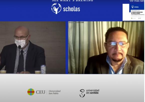 Participación del Rector Dr. Pedro Fausto Arieta en VI Congreso Internacional de Sholas Cátedras